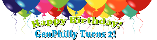 Happy Birthday GenPhilly Turns 2