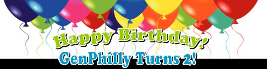 Happy Birthday GenPhilly Turns 2