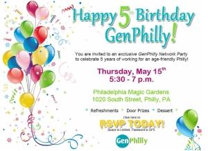 GenPhilly_Turns_5_Network_Invitation